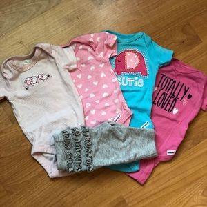 5 piece newborn set